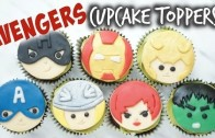 Avengers Cupcake Toppers │復仇者聯盟杯子蛋糕裝飾