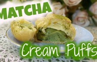 Matcha Green Tea Puffs │抹茶泡芙