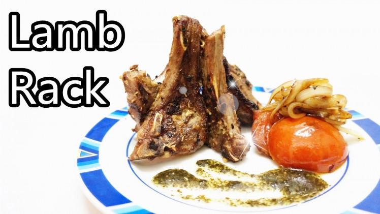 香草煎羊架 Roasted Lamb Rack