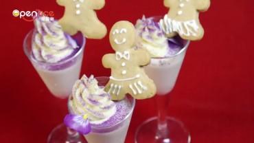 聖誕甜品 – 蕃薯薑汁Panna Cotta