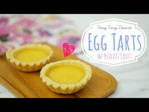 Hong Kong Egg Tarts ⎜牛油皮蛋撻