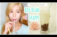 Hong Kong Red Bean Frappe (Ice)⎜香港經典紅豆冰