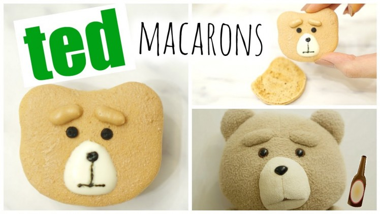 Ted Macarons⎜賤熊(熊麻吉)馬卡龍