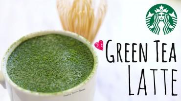 Starbucks' Green Tea Latte Recipe⎜抹茶拿鐵