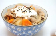 溫泉蛋牛肉飯 Poached egg beef Bowl