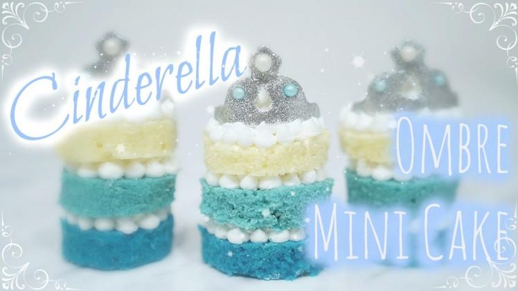 Cinderella Mini Cakes | 仙履奇緣迷你蛋糕