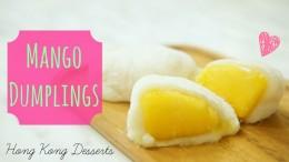 Mango Dumplings (Nuomici)⎜芒果糯米糍