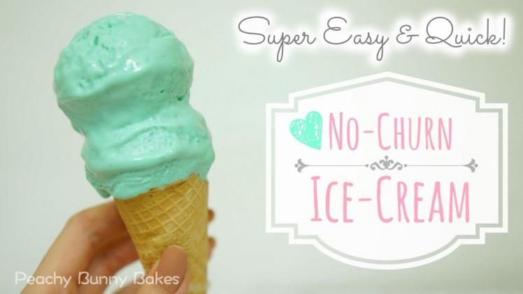 Tiffany Blue Ice-Cream [No machine required]⎜超簡單蒂芙尼藍雪糕 [不用機器]