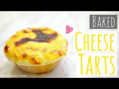 Baked Cheese Tarts⎜日式芝士撻